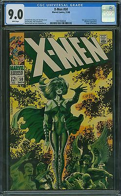 X-Men 50 CGC 9.0 - White Pages
