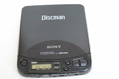 SONY  D-121  DISCMAN  Personal CD Compact  Player