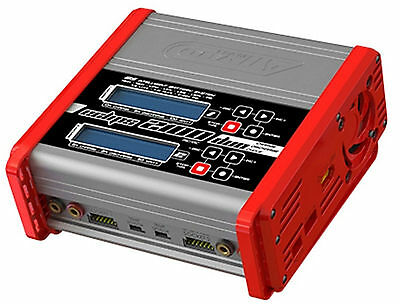 Corally Charger Eclips 2100 Duo AC-DC 100 W Digital Indicator 1-6 Lipo C-48489
