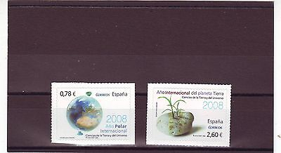 Spain - Sg4333-4334 Mnh 2008 Science - Self Adhesive