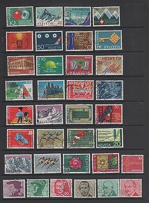 Switzerland c. 1966 - 1971 Small Used Collection