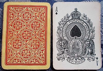 """ANTIQUE PLAYING CARDS c1890s """" LONDON PLAYING CARD CO."""" (Goodall)  WIDE FORMAT"""