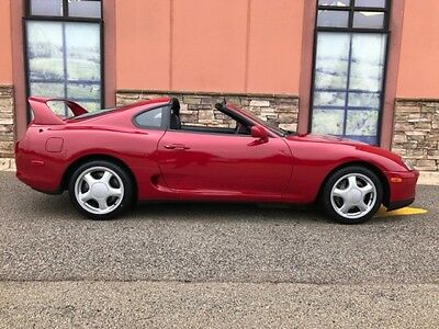 1994 Toyota Supra Twin Turbo Hatchback 2-Door 1994 Toyota Supra 2dr TWIN Turbo w/Sport Roof 1 OWNER
