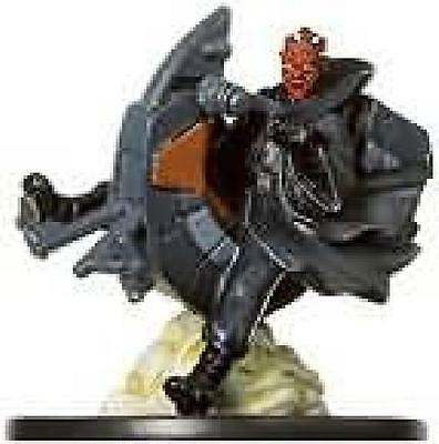 Darth Maul on Speeder #07 Universe Star Wars Miniatures Played