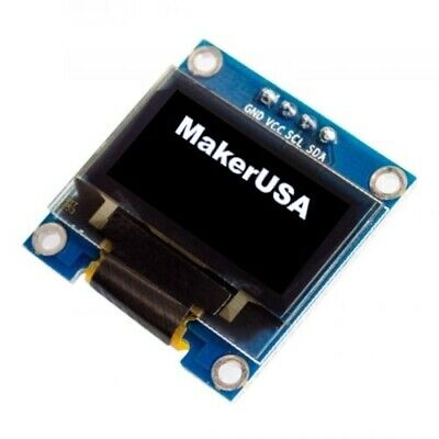 "0.96"" I2C IIC Serial 128X64 White OLED Display Module for Arduino, Raspberry Pi"