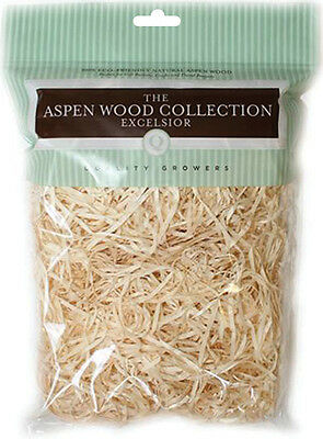 """Aspenwood Excelsior 108.5 Cubic Inches-Natural, Set Of 6"""