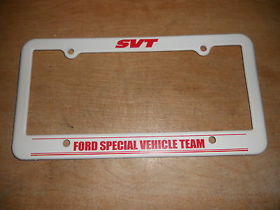 1993 - 2004 Ford Mustang Svt Cobra License Plate Frame