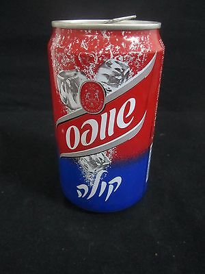 Schweppes  cola  : a 330 ml  empty  can, israel, 2006