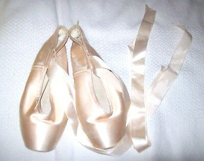 Gaynor Minden Pink Pointe Shoes Size 7 M 3-121-33