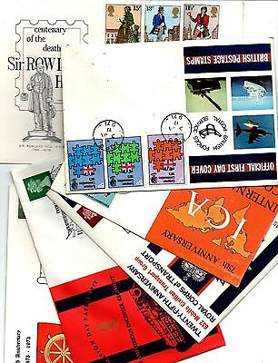 25 F.D.Cs FROM GREAT BRITAIN 1960-70-80s.