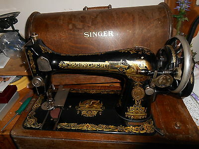 Vintage Singer Hand Operated Sewing Machine For Spares Or Restoration M32