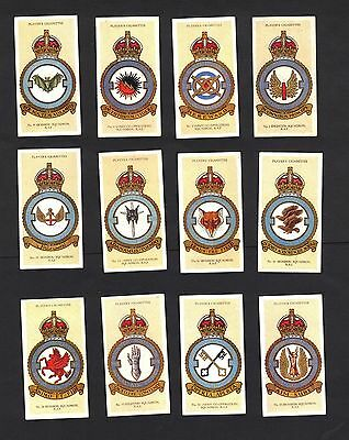 Players - RAF Badges (With Motto) - Complete Set