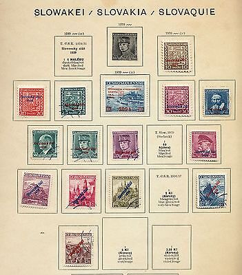SLOVAKIA 1939/44 Mint &Used Collection(Approx 100+Items) OV3503