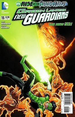 GREEN LANTERN NEW GUARDIANS #15 (DC RISE 2012 1st Print)