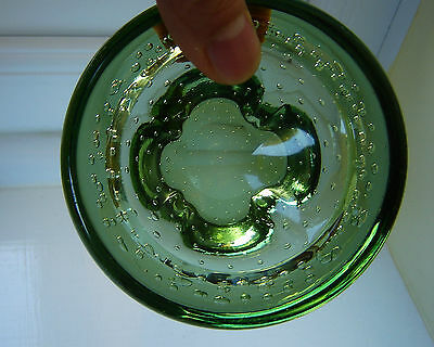 Whitefriars Vintage Art Glass Meadow Green bowl RARE