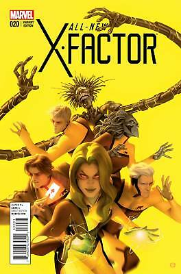 ALL NEW X-FACTOR #20 FINAL ISSUE VARIANT (Marvel 2015 1st Print)