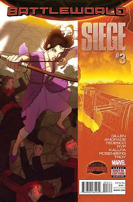SIEGE #3 (Marvel Secret Wars 2015 1st Print)