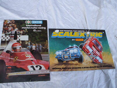 Scalextric Catalogues25 Edition And  17 Th Edition Both Nice