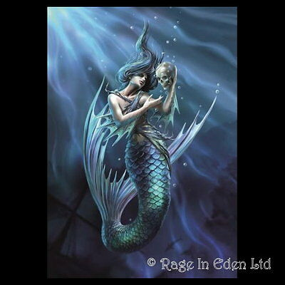 *SAILOR'S RUIN* Anne Stokes Fantasy Mermaid Art Blank Greeting Card (AN79)