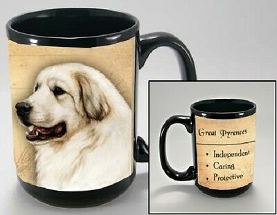 15 oz. Faithful Friends Mug - Great Pyrenees MFF090