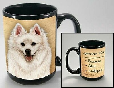 15 oz. Faithful Friends Mug - American Eskimo MFF002