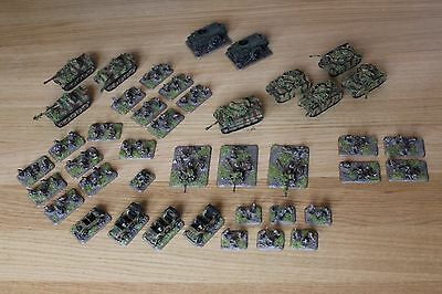 15mm WW2 FOW FLAMES OF WAR GERMAN ARMY *NICELY PAINTED* (P104)