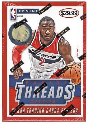 2014-15 Panini THREADS Basketball NBA Trading Cards New 20ct. Hobby Blaster Box