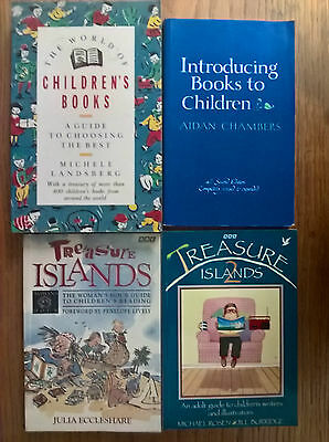 4 books: 2x BBC Treasure Islands, + 2 on introducing choosing books for children