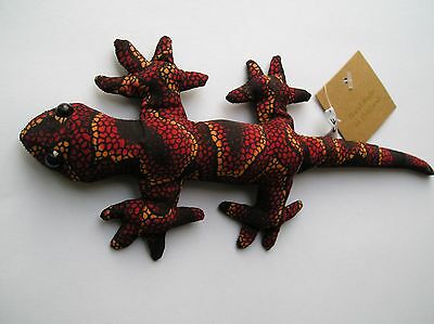 Colourful Hand Made Sand Filled Lizard Salamander