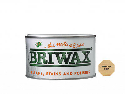 Briwax Wax Polish Antique Pine 400g The Best Natural Wax Cleans and Polishes