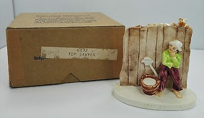 Sebastian Miniatures   Tom Sawyer ~ Artist Signed ~ 2.875 inches ~ S14 with box