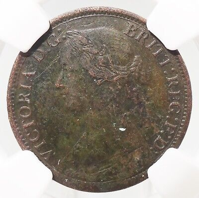 RARE 1861 New Brunswick Canada Half Cent 1/2C NGC XF Details A2