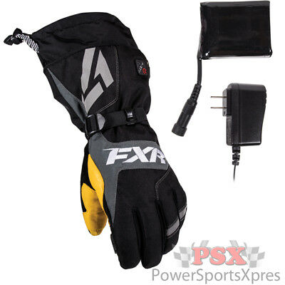 FXR Heated Recon Snowmobile Gloves  ~ New 2016