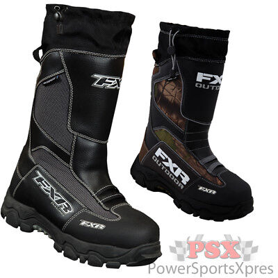 FXR Excursion Snowmobile Boots  ~ New 2016