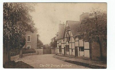 1917 Postcard The Old Grange BURBAGE Hinckley published by W Pickering