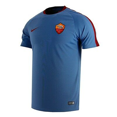BNWT Men's Nike Roma Football Club Training Shirt Large New Dri-Fit