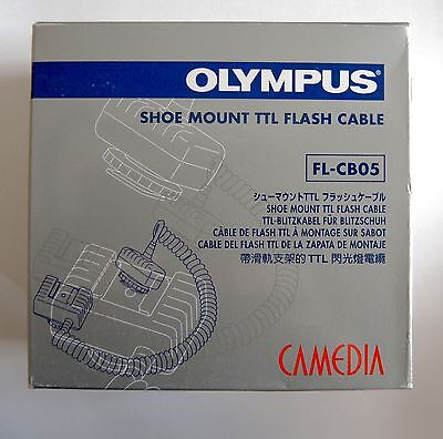 Brand New* Olympus Fl-Cb05 Hot Shoe Cable *in Scotland