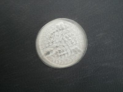 1934 george v silver threepence in good condition