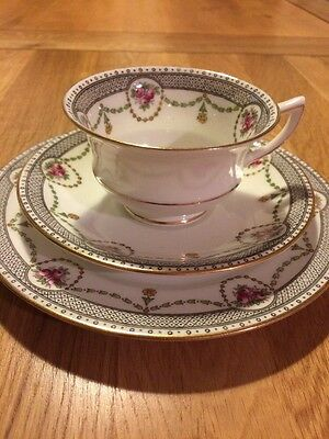Antique/Vintage Aynsley Tea Cup, Saucer And Tea Plate