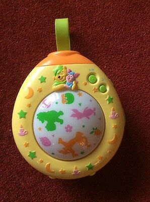 Tomy Winnie The Pooh Dreamtime Lightshow Night Light Musical Sleep  Soother
