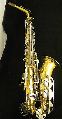 Vintage King 660 Usa High F# Key Alto Saxophone Free Shipping
