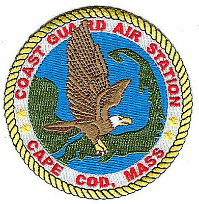 Air Station Cape Cod small unsealed eagle W4556 Coast Guard patch