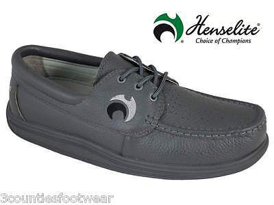 Bowls Shoes HENSELITE TEAM Wide Fit Leather
