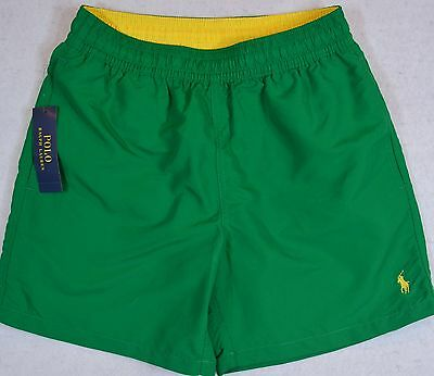 Polo Ralph Lauren Swim Trunks Kayak Green Swimming Shorts Size S Small NWT