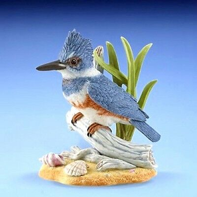 Lenox Female Belted Kingfisher Garden Bird NEW IN BOX