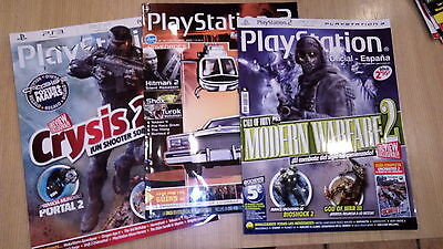 3 Revistas Playstation Oficial News Reports Juegos Sony Ps2 Playstation One Ps3