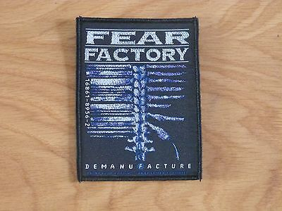 Fear Factory - Demanufacture (New) Sew On W-Patch Official Band Merch