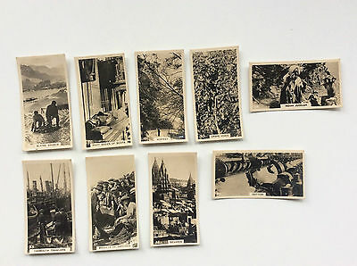 9 X B. A. T.  Cards.  Here. There & Everywhere.  1929