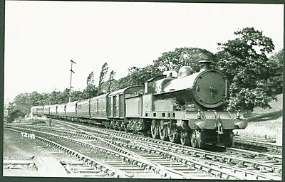 "LNWR Claughton Class 4-6-0 No.2430 ""Vindictive"". Real Photos Broadstairs Photo"