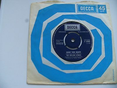 The Rolling Stones:honky Tonk Woman/you Can't Always Get What You Want.1969Decca